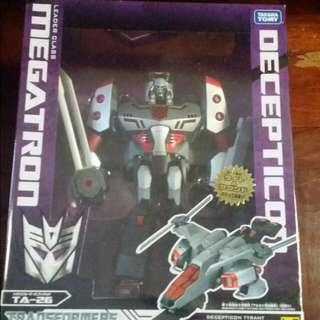 Megatron Transformers Animated Leader Class Takara