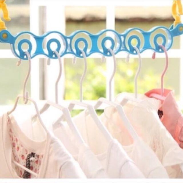 (+39 加價購)省空間衣服掛鉤衣架曬衣架