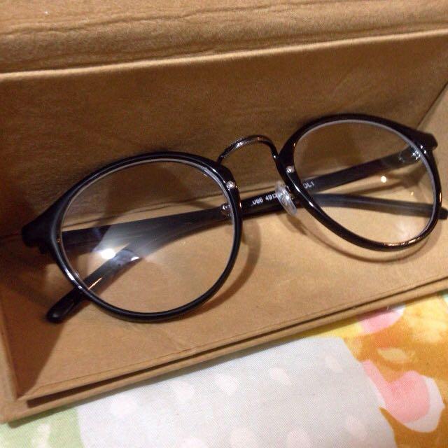 [免運]復古圓框平光眼鏡
