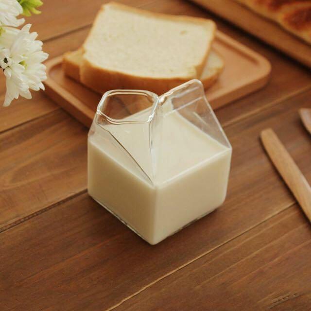 (免運)撕開牛奶盒造型 杯子