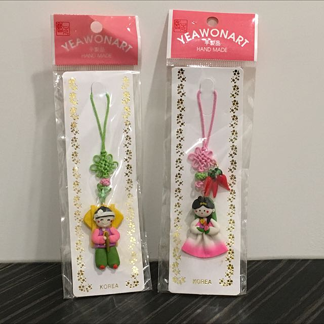韓國娃娃吊飾 韓國購入 全新
