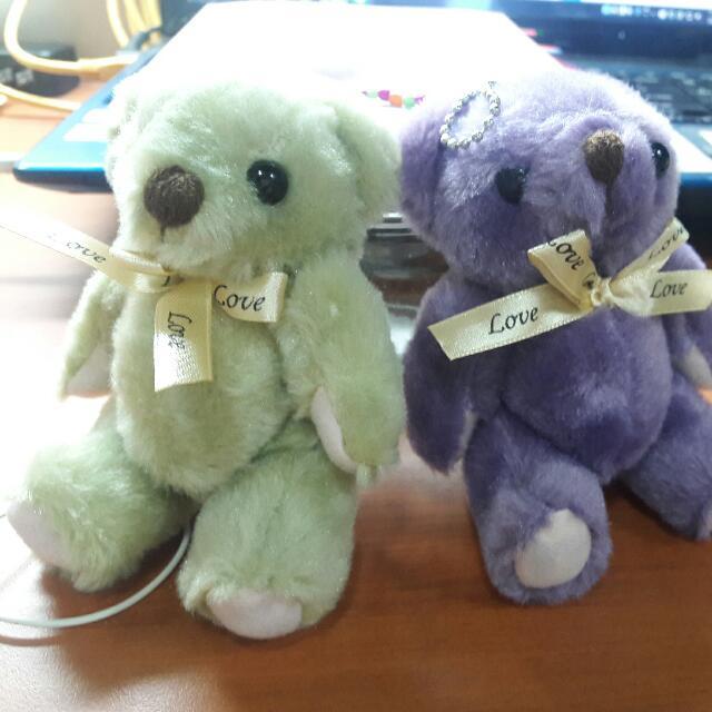 毛絨小熊 玩偶 吊飾