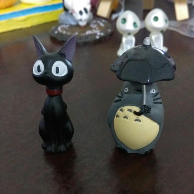黑貓 龍貓玩具 非扭蛋