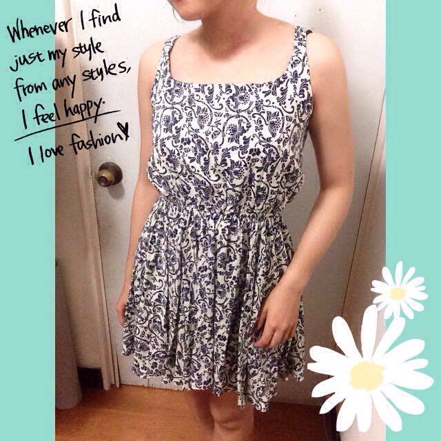 (含運) 全新 圖騰 洋裝