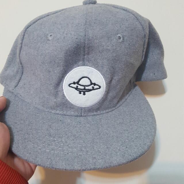 灰色飛碟 幽浮 外星人 UFO 棒球帽 帽子