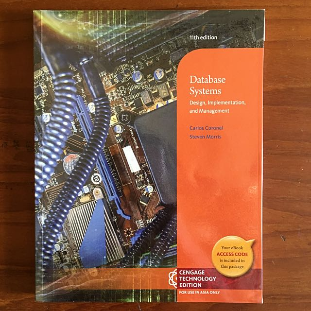 database systems design implementation and management 11th edition pdf  BC2402 - Database Systems Design, Implementation