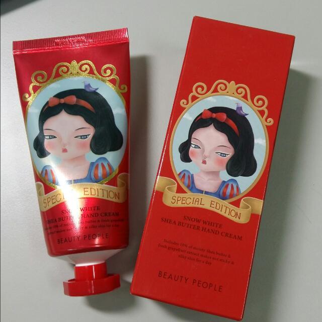 韓國帶回,beauty People白雪公主奶油護手霜-葡萄柚