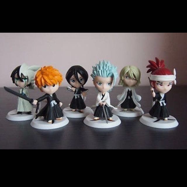 Bleach Mini Figures