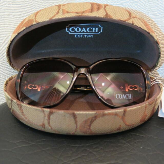 Coach 8301C2豹紋墨鏡