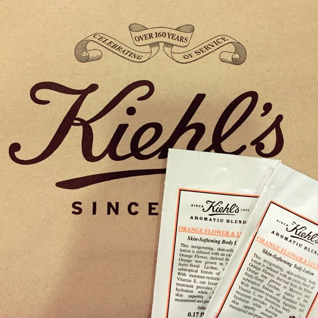Kiehl's 香氛旅人潤膚乳🌸