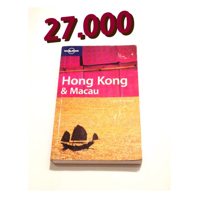 Lonely Planet Travel Book: Hong Kong And Macau