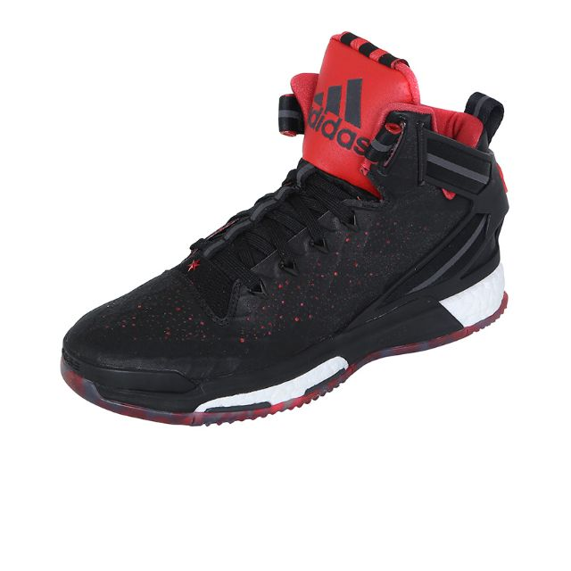2d12610d4d31e3 ORIGINAL Adidas D Rose 6 Boost NBA Derrick Rose Red Black Basketball ...