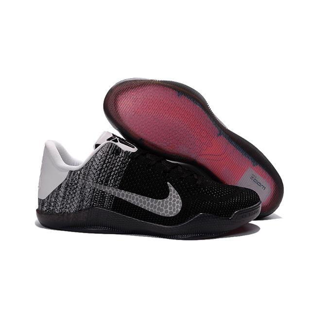 best website e8c2c aa3f9 ORIGINAL Nike Kobe 11 Beethoven White Black NBA Lakers Kobe Brayant ...