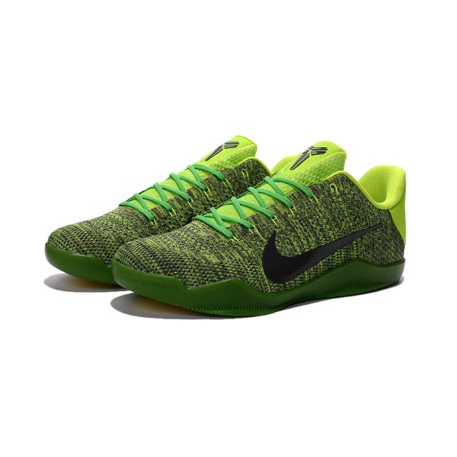 the best attitude a58e8 22fef ORIGINAL Nike Kobe 11 Green Black Volt NBA Lakers Kobe Brayant Basketball  Sport Shoes, Sports on Carousell