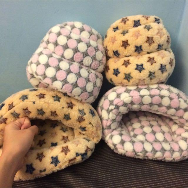 全新獨家設計 超保暖珊瑚絨睡窩 天竺鼠 蜜袋鼯 倉鼠 刺蝟 各種小寵物 包覆性超好 保暖 冬天必備 大便窩