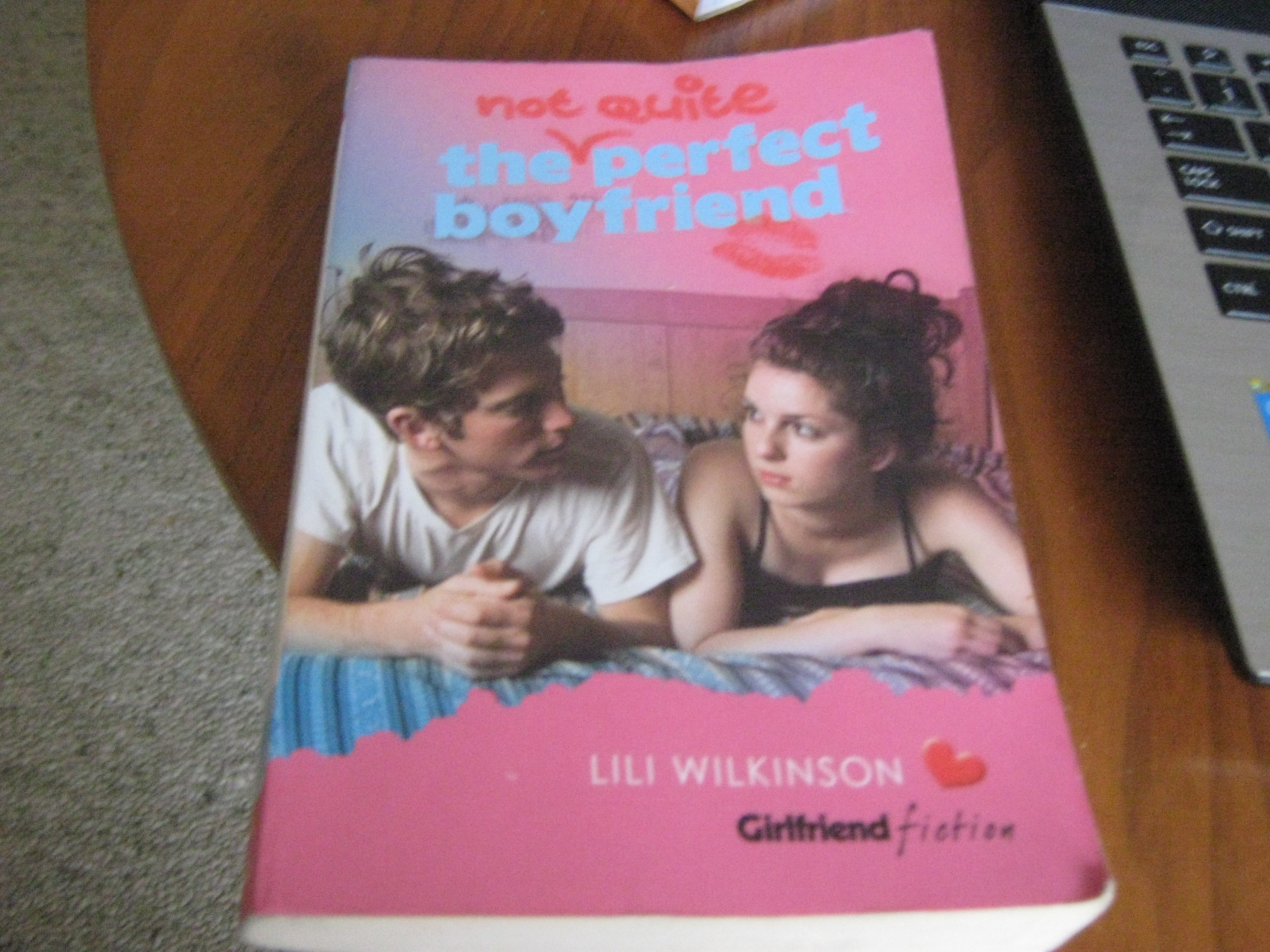 'The not quite perfect boyfriend' by Lili Wilkinson
