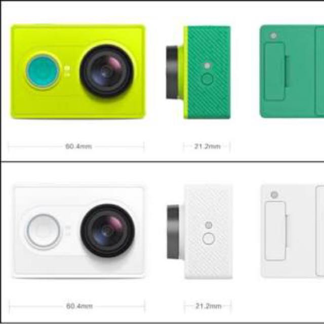 Xiaomi Yi Action Camera All Colour