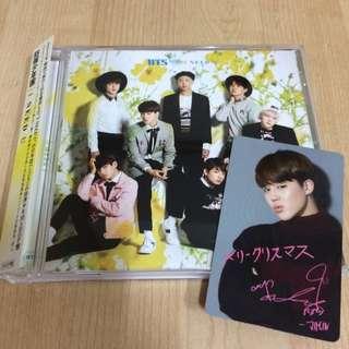 Bts Jimin Photocard Christmas Shop Edition With Album