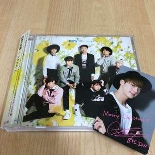 Bts Jin Photocard Christmas Shop Edition With Album