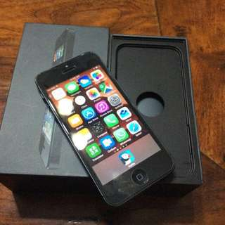 iPhone 5 16 GB Space Grey