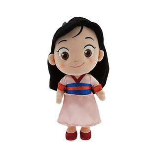 🚚 Toddler Mulan Plush Doll - Small - 12''