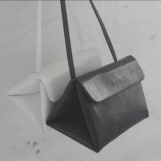 黑白極簡三角包/小方包/斜背