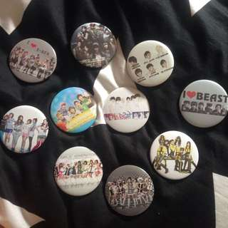 KPOP Badges