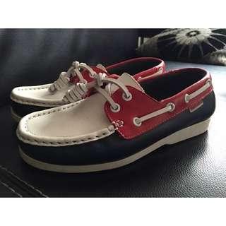 個人二手 TRAVELFOX 休閒鞋 912327 - 紅/白/深藍