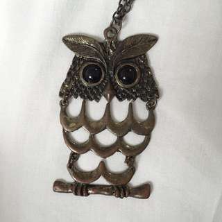 Handcrafted Owl Necklace