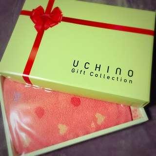 👗Uchino 毛巾禮盒
