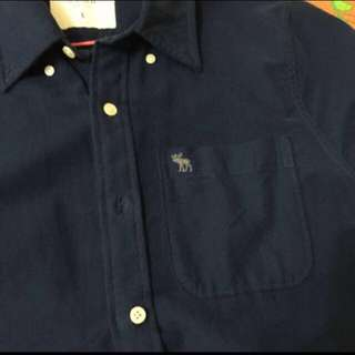 保證正品A&F襯衫9.9成新