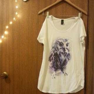 Cute Owl Tshirt