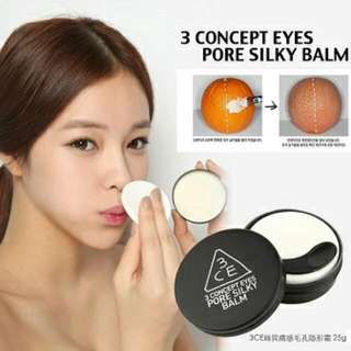 售  二手  韓國3CE  3CONCEPT EYES 絲質膚感 毛孔隱形霜
