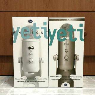 New Limited Edition Blue Microphones Yeti USB Microphone