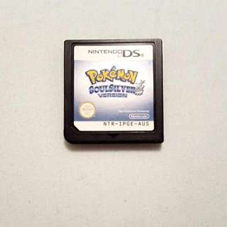 Pokemon Soul Silver Nintendo DS Game
