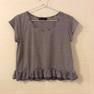 Ally Stripe Crop Top
