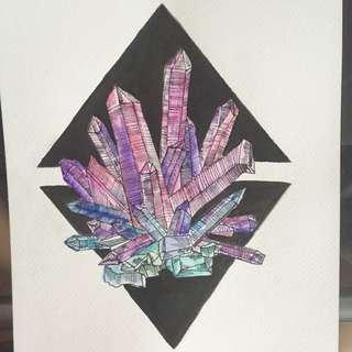 Crystal Artwork