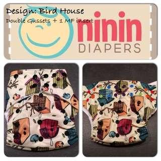 Ninin Cloth Diaper (Different Designs)