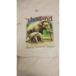 泰國購買 大象T-shirt