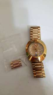 Rado Original Men's Automatic Gold Plated Stainless Steel Watch