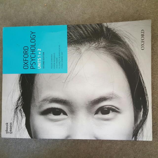 2nd Edition Psychology 1/2 Texbook