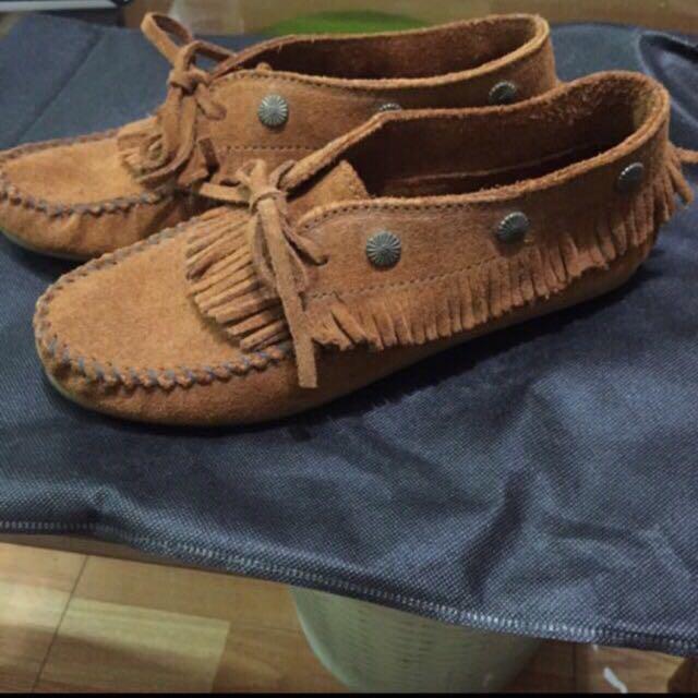 二手莫卡辛40號女鞋