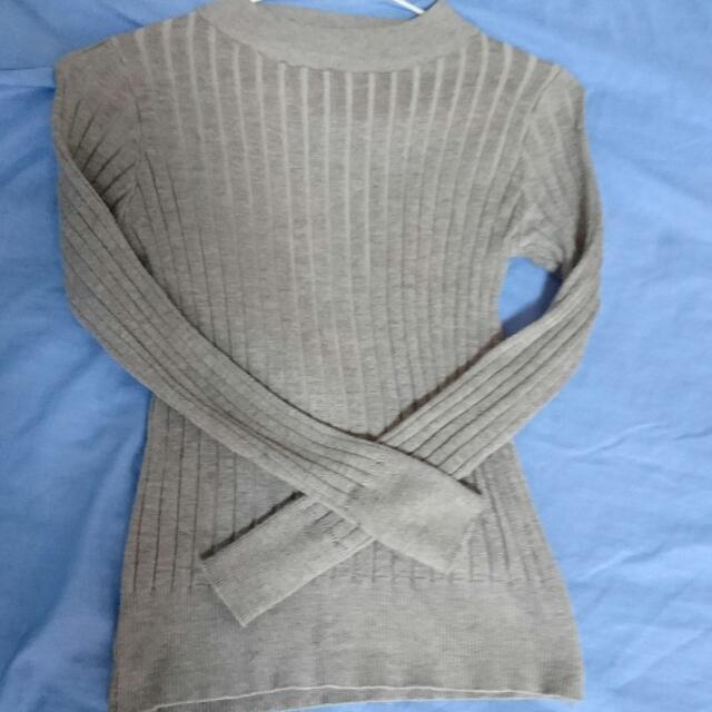 💕羅紋短版長袖✨