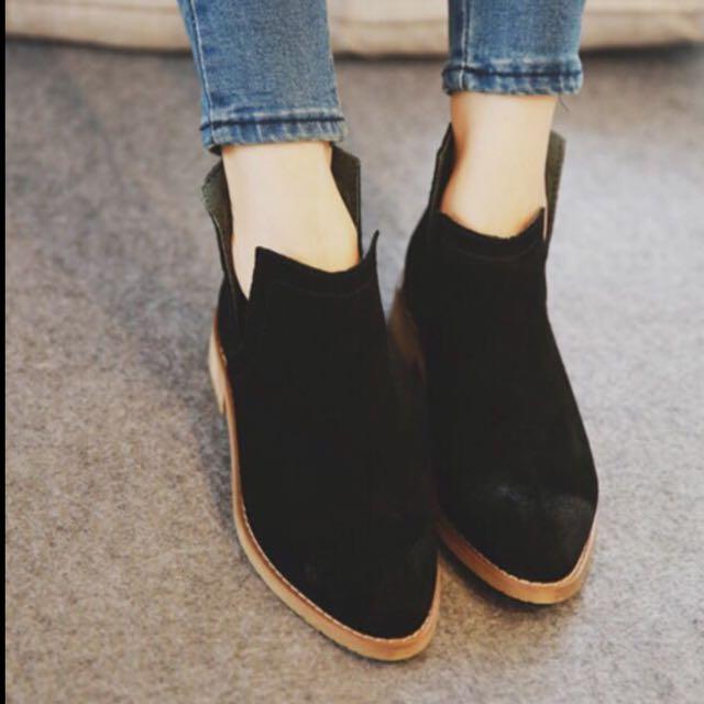 踝靴❤️(黑)