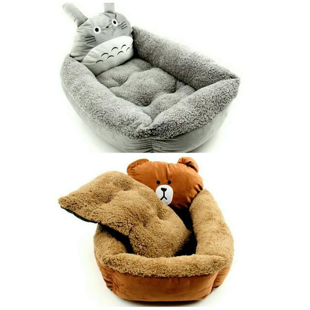 現貨 龍貓 熊 寵物床 寵物窩