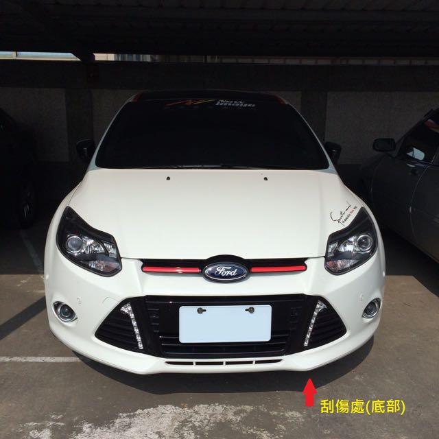 [二手] 售Focus MK3 原廠HW 白色前保桿