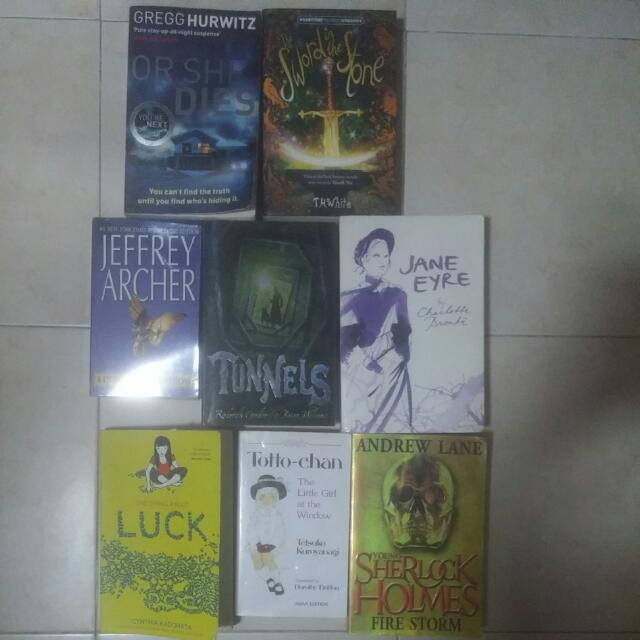 [CLEARANCE SALE] Assorted Books