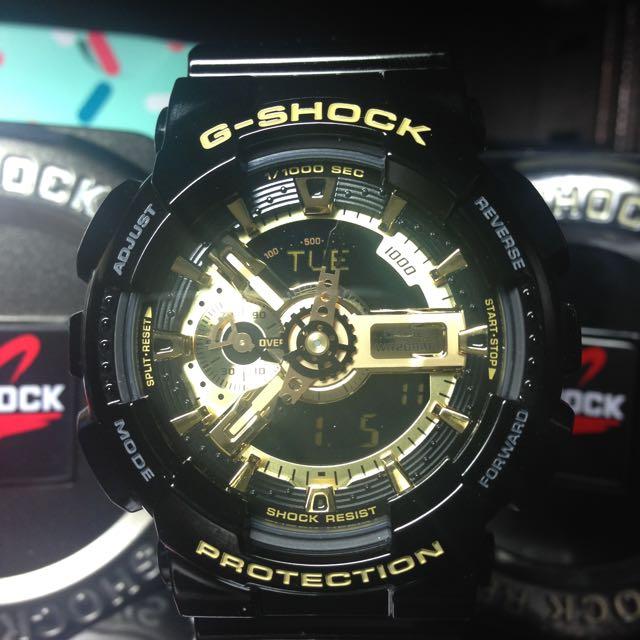 G-Shock GA-110 王者黑金
