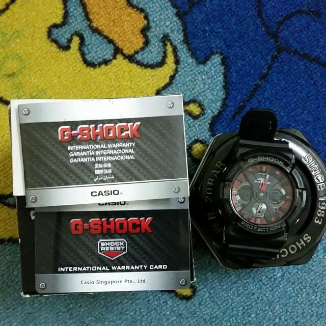 G-Shock GA 200SH 1ADR