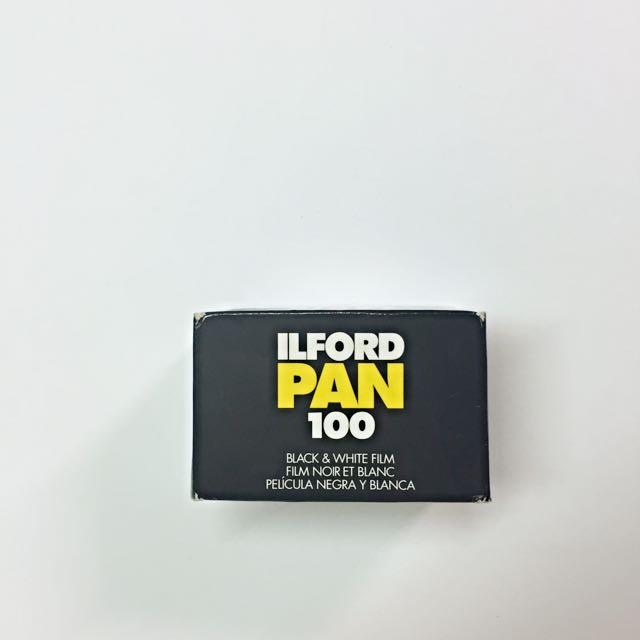 (暫售)ilford pan 100 底片🎞